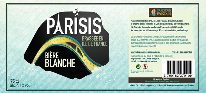 parisis blanche - biere paris