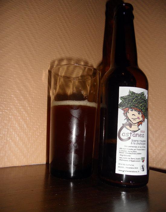 Castanea, bière à la châtaigne