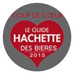 Coup de coeur Guide Hachette des Bières 2015