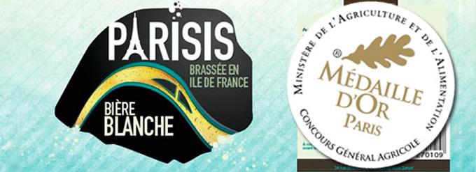 La Brasserie Parisis récompensée pour sa bière blanche