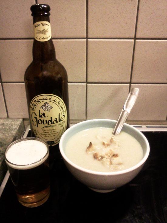 Chti soupe de chicons bière Goudale