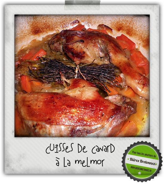 cuisses de canard a la melmor