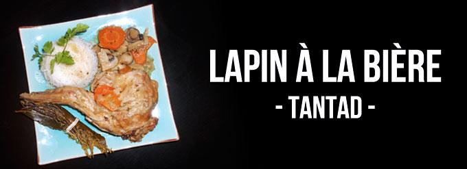 Lapin à la bière blonde Tantad