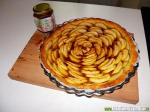 Tarte aux pommes à la crème de Guernouillette
