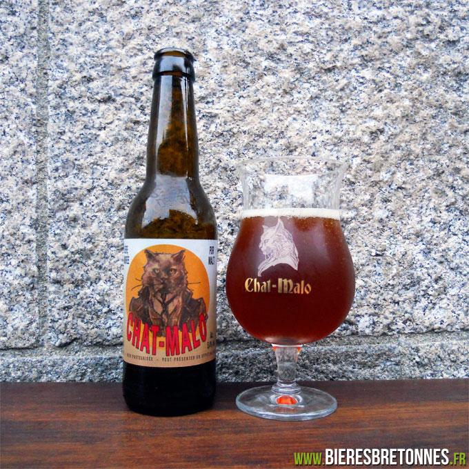 Souvent Chat-Malo Ambrée : la bière de Saint-Malo ? - Bières Bretonnes KP51