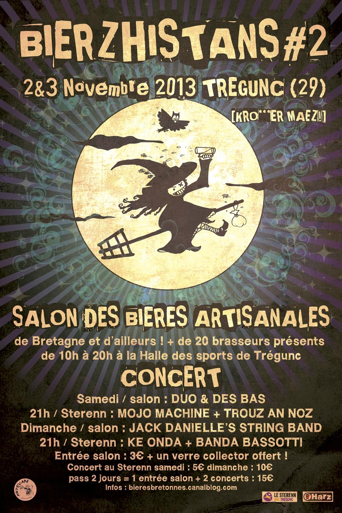 salon bieres bretonnes bierzhistans tregunc