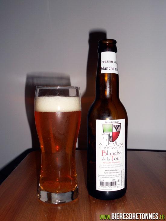 Blanche de la tour Brassin Rousse - bière Bellon