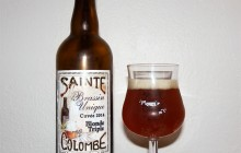Sainte Colombe Blonde Triple Brassin Unique Cuvée 2014