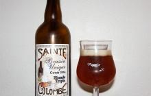 Sainte Colombe Blonde Triple Brassin Unique Cuvée 2014