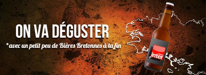Dégustation de Bières Bretonnes sur France Inter