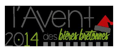 logo calendrier de l'avent des bières bretonnes 2014