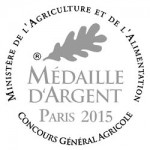 Logo Medaille argent concours General Agricole