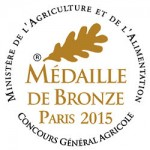 Logo Medaille bronze concours General Agricole
