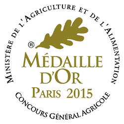 Logo Medaille OR concours General Agricole