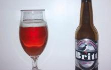 Bière Britt Rosée - Brasserie de Bretagne (Britt)
