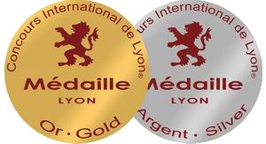 Médailles Concours International de Bière Lyon