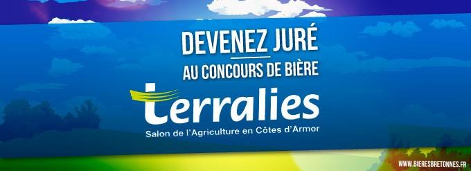 Juré Concours Bière Terralies