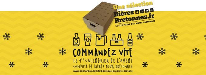 Calendrier de l'avent des bières bretonnes 2015