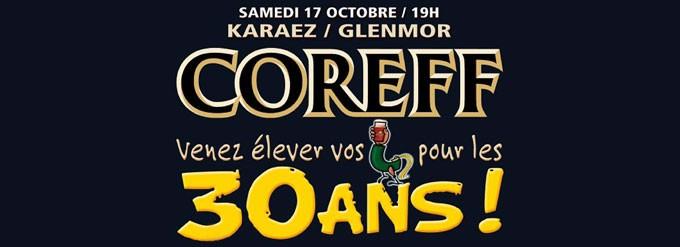 Coreff 30 ans