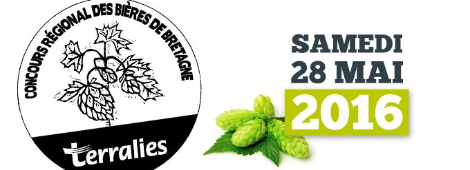 Presentation Salon Terralies 2016 Concours Bières