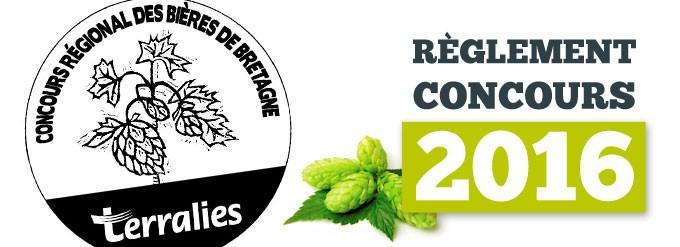 Découvrez le règlement du concours de bières Terralies 2016