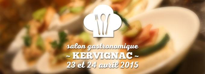 salon de la gastronomie de Kervignac