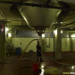 La base d'un énorme fermenteur