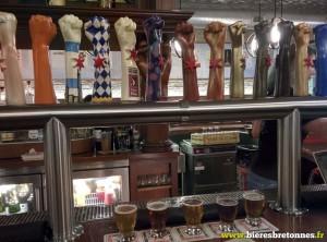 Les bières disponibles à la pression