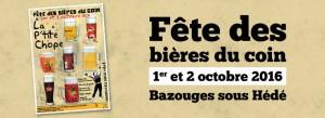Fete des bières du coin à Bazouges sous Hédé octobre 2016