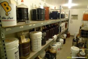 La salle de fermentation
