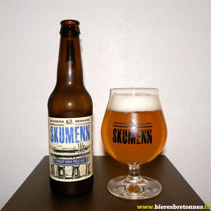 Skumenn Wheat India Pale Ale, brasserie rennaise Skumenn