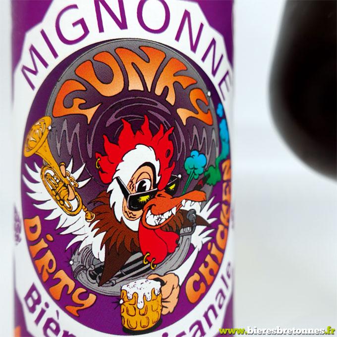 Étiquette Mignonne de Noël « Funky Dirty Chicken » – Brasserie de Trévarn