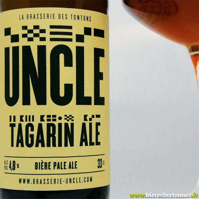 Étiquette Tagarin Ale – Brasserie Uncle