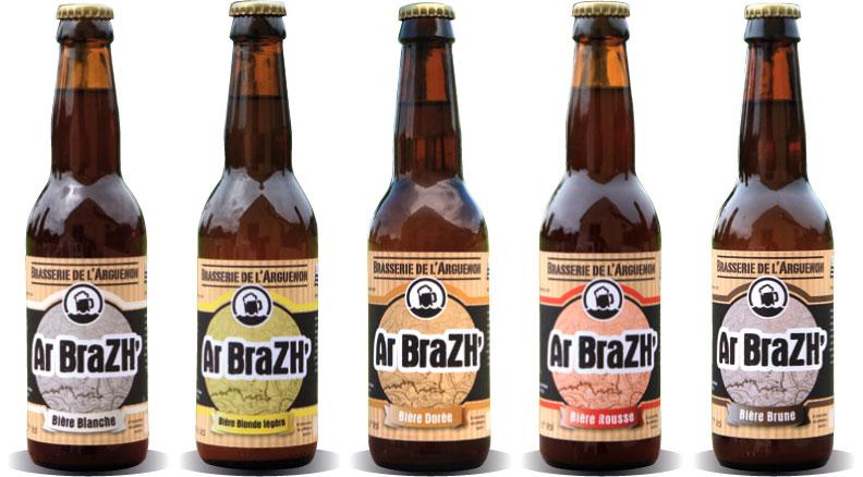 Bières de la Brasserie de l'Arguenon