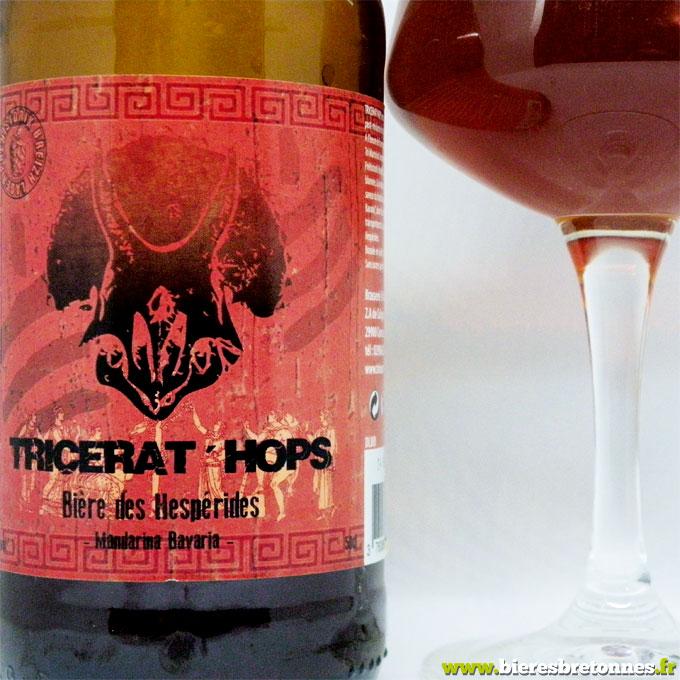 Étiquette Tricerat'hops Mandarina Bavaria – Brasserie Tri Martolod