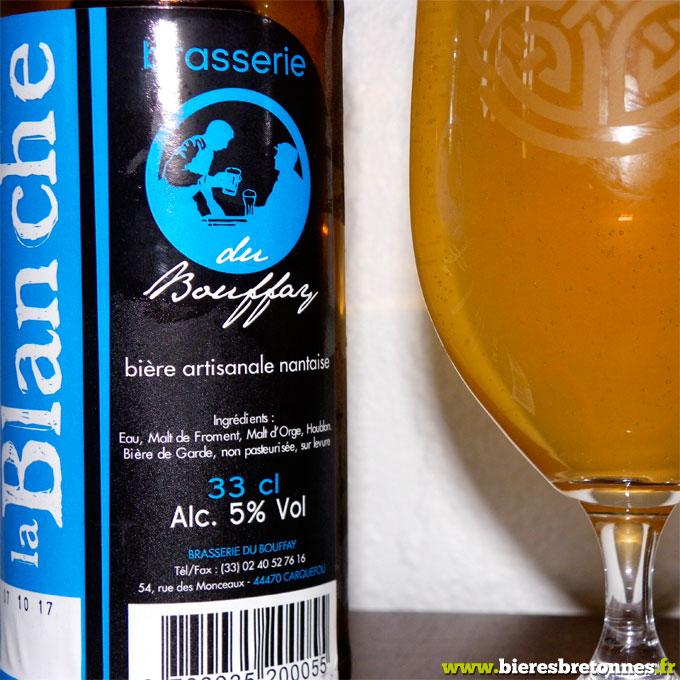 Étiquette La Blanche – Brasserie du Bouffay