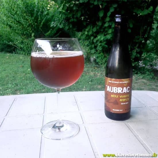 L'ambrée, bière de l'Aubrac