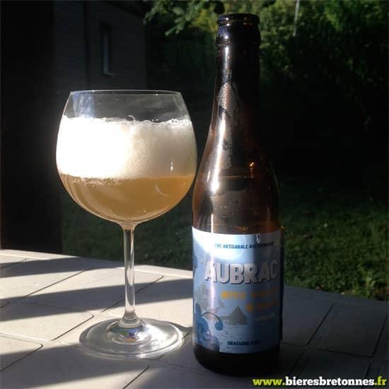 La blanche, bière de l'Aubrac
