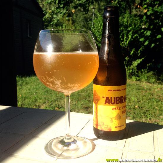 La blonde, bière de l'Aubrac