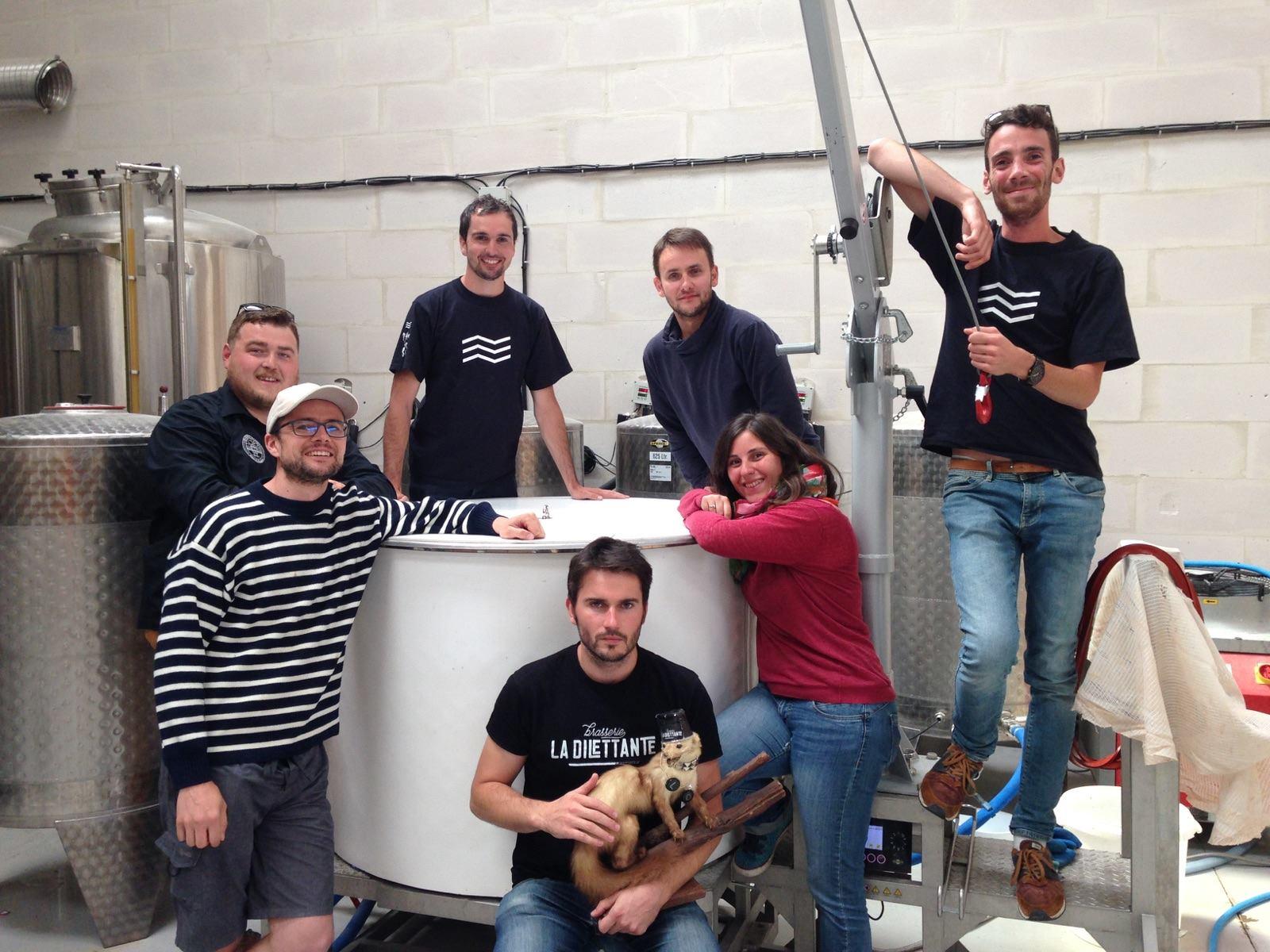 Une nouvelle bière collaborative à la brasserie La Dilettante
