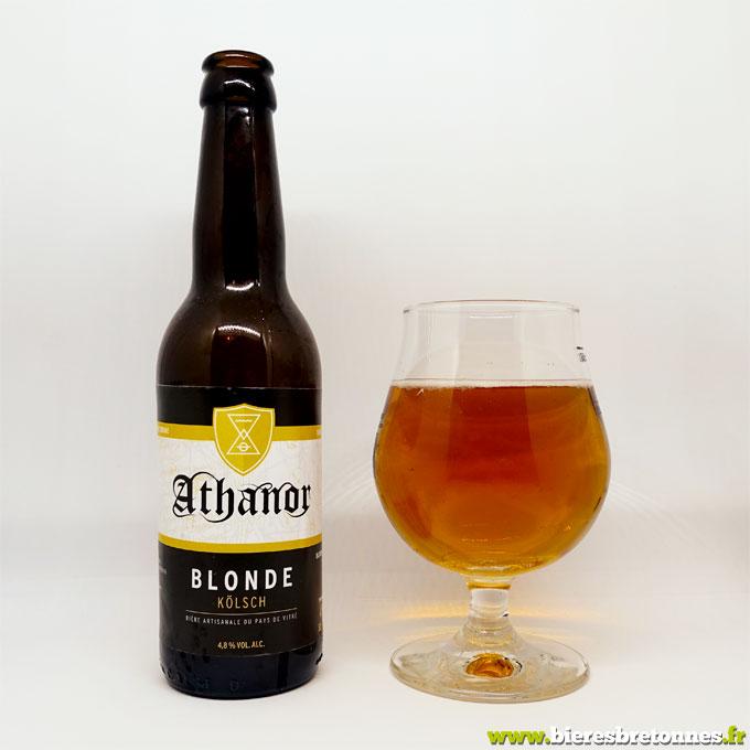 Blonde d'inspiration Kölsch – Brasserie Athanor