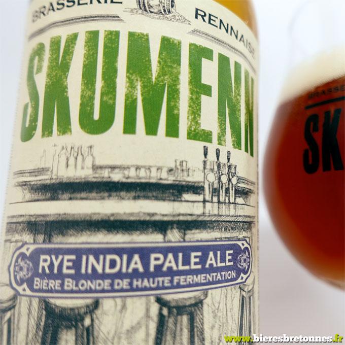 Étiquette Rye India Pale – Brasserie Skumenn