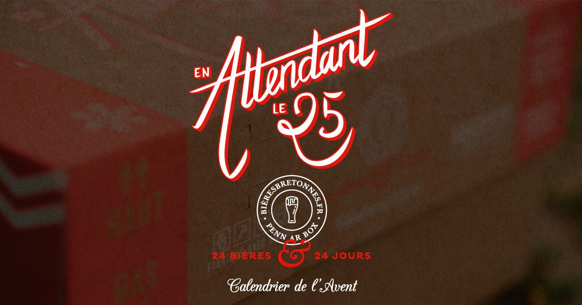 Calendrier de l'Avent des bières bretonnes