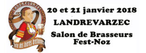 Fête des bières bretonnes de Landrévarzec Janvier 2018