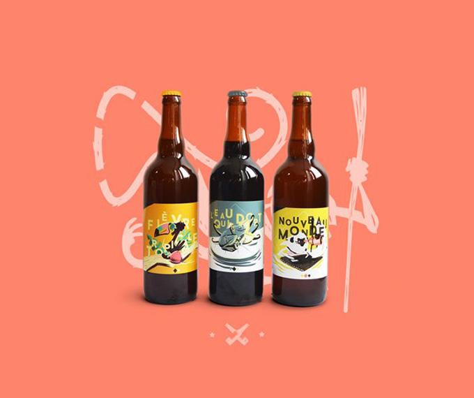 Gamme De Bieres Vieux Singe