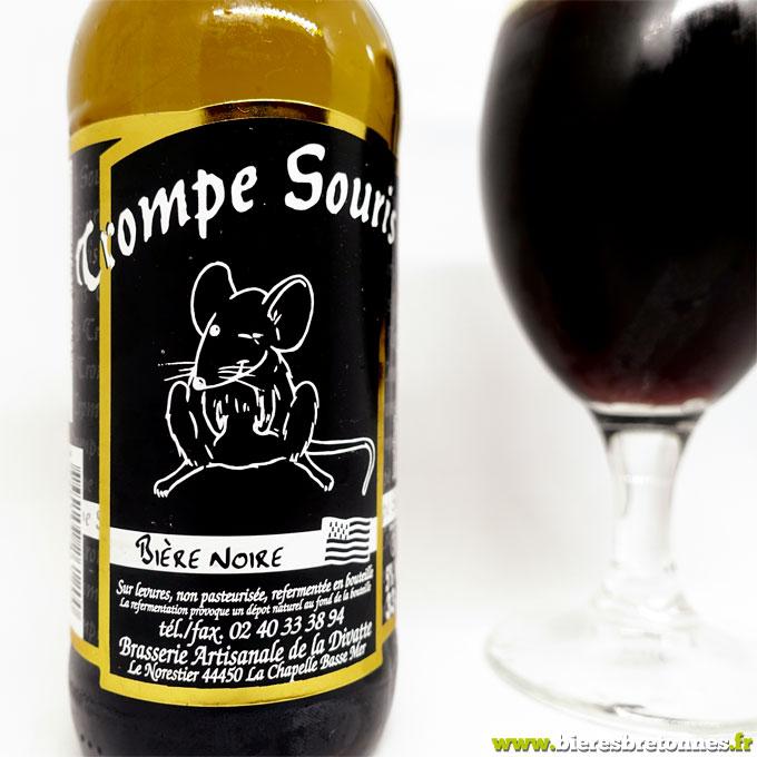 Étiquette Trompe Souris Noire – Brasserie de la Divatte