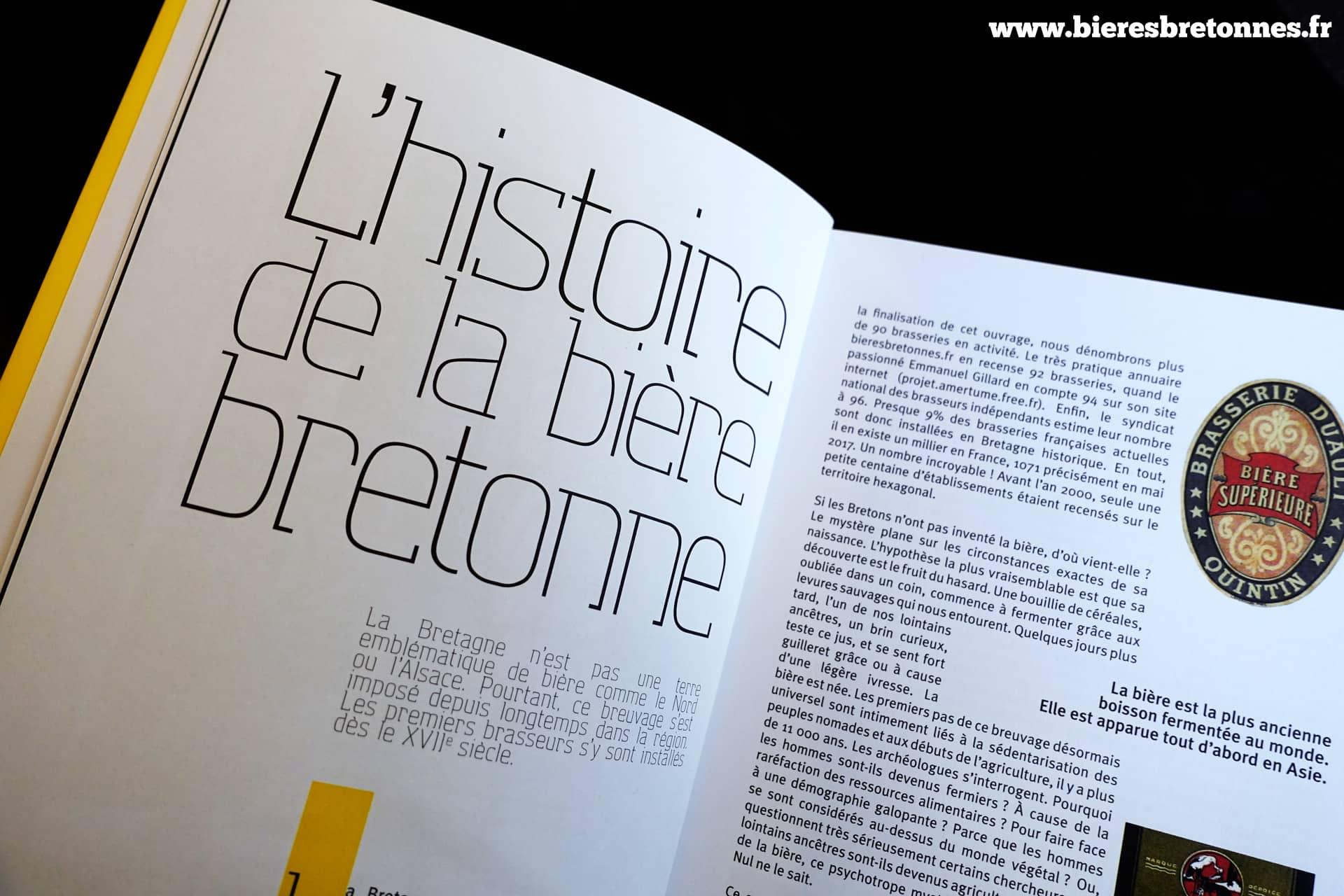 L'histoire de la bière bretonne