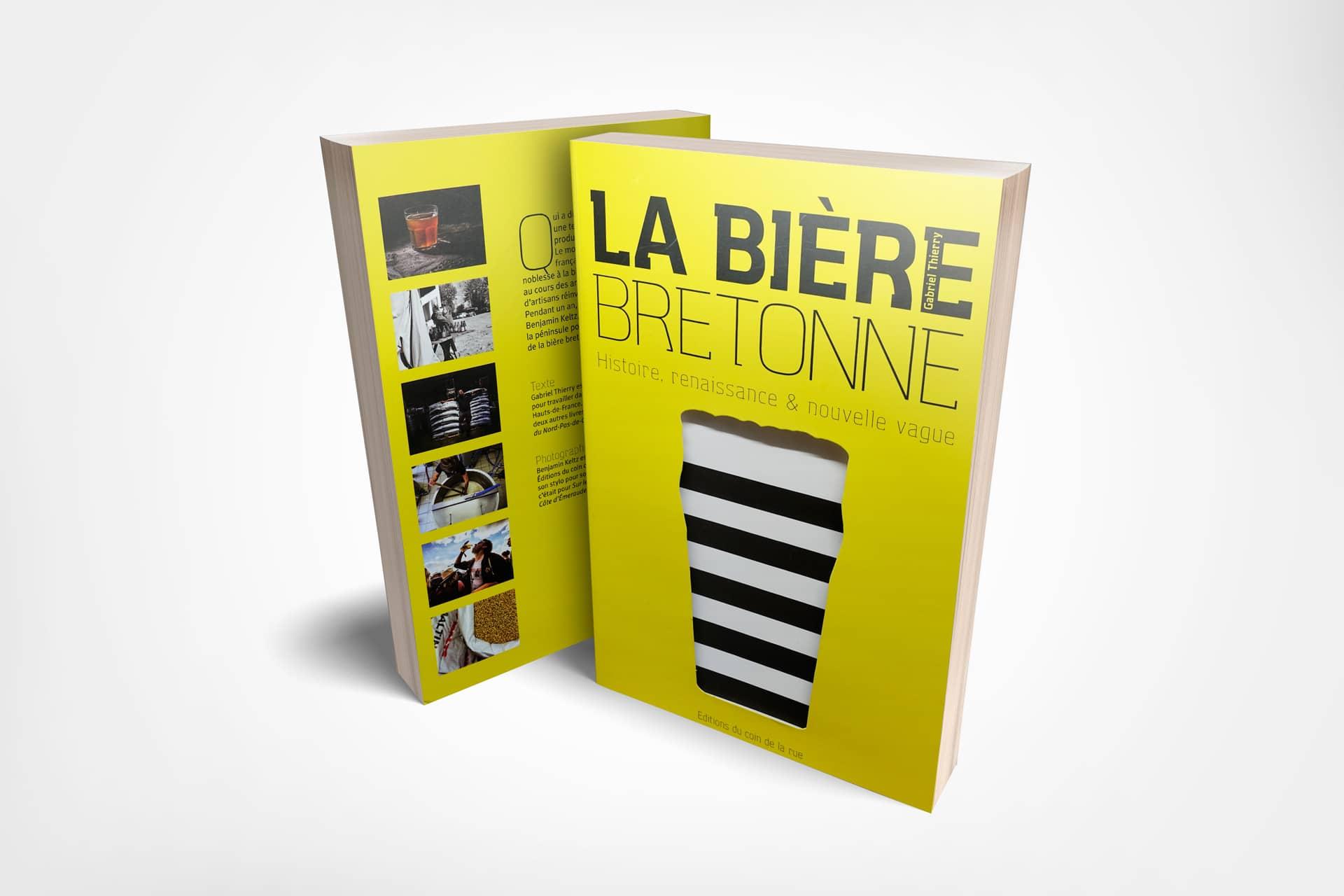 """Gabriel Thierry, auteur de """"La Bière Bretonne"""" aux Éditions du coin de la rue"""