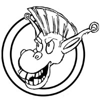logo Brasserie l'âne doré