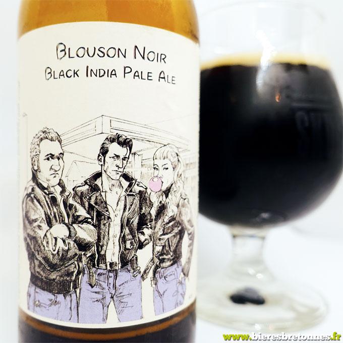 Étiquette Blouson Noir – Brasserie Skumenn